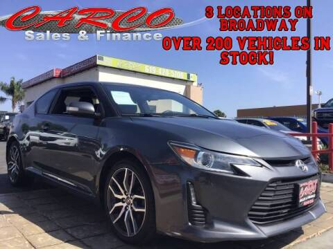 2014 Scion tC for sale at CARCO SALES & FINANCE in Chula Vista CA