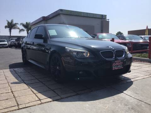 2009 BMW 5 Series for sale at CARCO SALES & FINANCE in Chula Vista CA