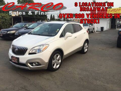 2015 Buick Encore for sale at CARCO SALES & FINANCE in Chula Vista CA