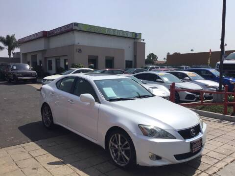 2008 Lexus IS 250 for sale at CARCO SALES & FINANCE #3 in Chula Vista CA
