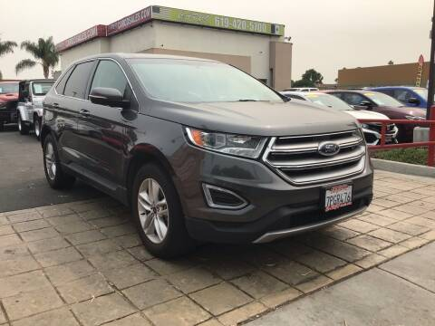 2015 Ford Edge for sale at CARCO SALES & FINANCE #3 in Chula Vista CA