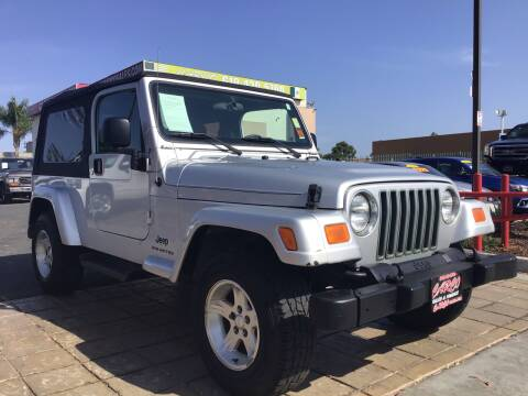 2006 Jeep Wrangler for sale at CARCO SALES & FINANCE in Chula Vista CA