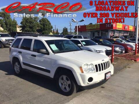 2005 Jeep Grand Cherokee for sale at CARCO SALES & FINANCE in Chula Vista CA