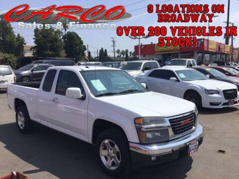 2009 GMC Canyon for sale at CARCO SALES & FINANCE in Chula Vista CA