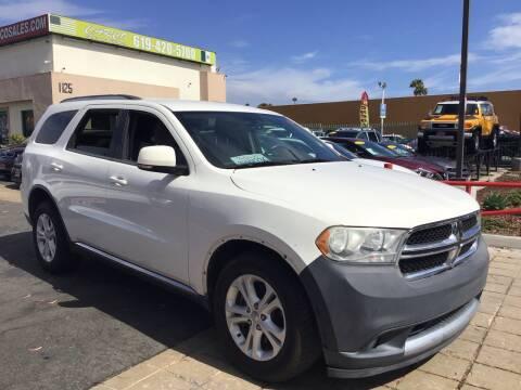2012 Dodge Durango for sale at CARCO SALES & FINANCE in Chula Vista CA