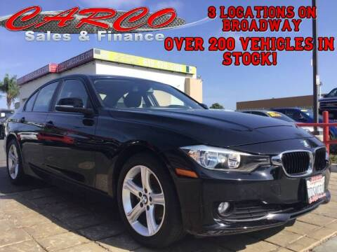 2014 BMW 3 Series for sale at CARCO SALES & FINANCE in Chula Vista CA