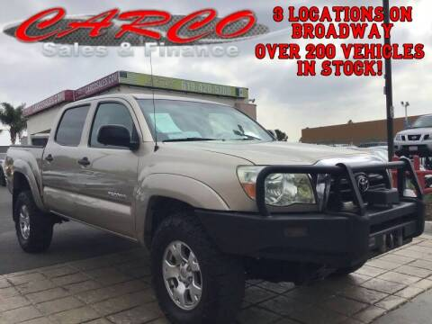 2008 Toyota Tacoma for sale at CARCO SALES & FINANCE in Chula Vista CA