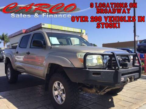 2006 Toyota Tacoma for sale at CARCO SALES & FINANCE in Chula Vista CA