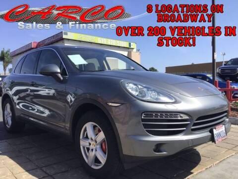 2012 Porsche Cayenne for sale at CARCO SALES & FINANCE in Chula Vista CA