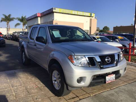 2019 Nissan Frontier for sale at CARCO SALES & FINANCE in Chula Vista CA