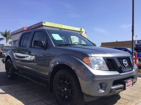 2018 Nissan Frontier for sale at CARCO SALES & FINANCE in Chula Vista CA