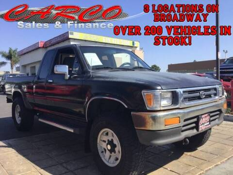 1994 Toyota Pickup for sale at CARCO SALES & FINANCE #3 in Chula Vista CA