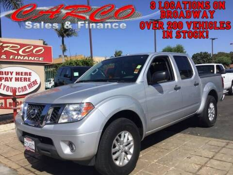 2016 Nissan Frontier for sale at CARCO SALES & FINANCE in Chula Vista CA