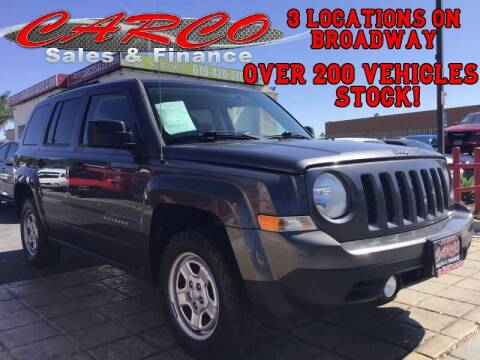2014 Jeep Patriot for sale at CARCO SALES & FINANCE in Chula Vista CA