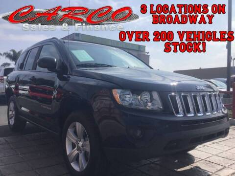 2013 Jeep Compass for sale at CARCO SALES & FINANCE in Chula Vista CA