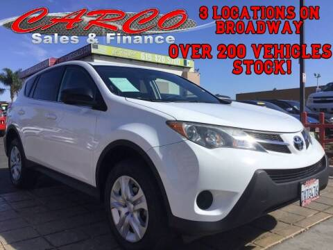 2013 Toyota RAV4 for sale at CARCO SALES & FINANCE in Chula Vista CA