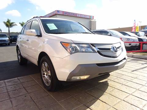 2007 Acura MDX for sale in Chula Vista, CA