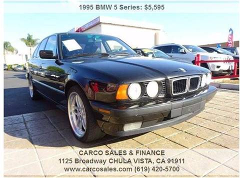 1995 bmw 5 series for sale carsforsale 1995 bmw 5 series for sale in chula vista ca sciox Image collections