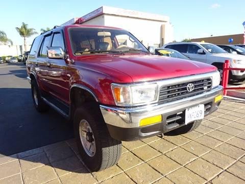 1994 Toyota 4Runner for sale in Chula Vista, CA