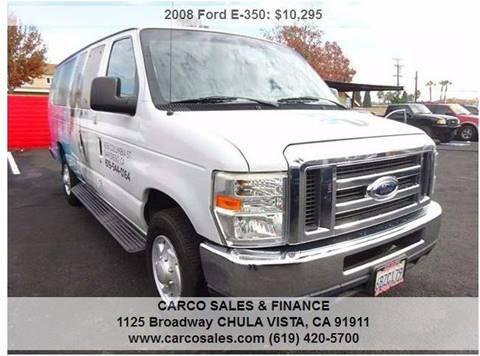 2008 Ford E-350 for sale in Chula Vista, CA