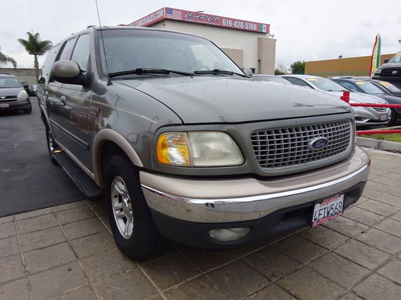 1999 ford expedition eddie bauer 4dr suv in chula vista ca. Black Bedroom Furniture Sets. Home Design Ideas