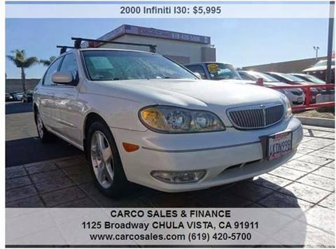 2000 Infiniti I30 for sale in Chula Vista, CA