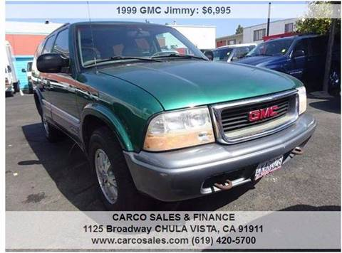 1999 GMC Jimmy for sale in Chula Vista, CA