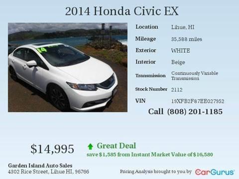 2014 Honda Civic for sale in Lihue, HI