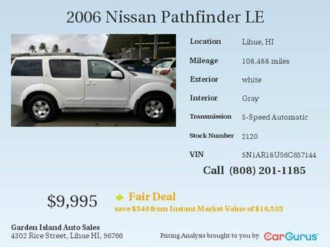 2006 Nissan Pathfinder