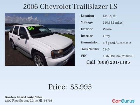 2006 Chevrolet TrailBlazer for sale in Lihue, HI