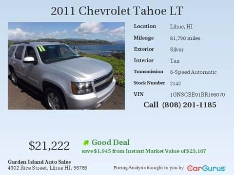 2011 Chevrolet Tahoe for sale in Lihue, HI