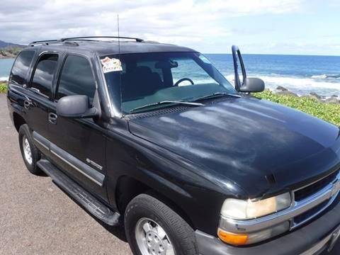 2002 Chevrolet Tahoe for sale in Lihue, HI