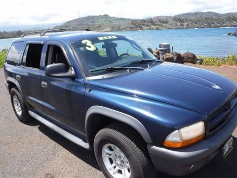 2003 Dodge Durango for sale in Lihue, HI