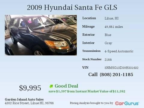 2009 Hyundai Santa Fe for sale in Lihue, HI