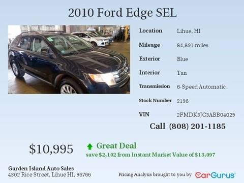 2010 Ford Edge for sale in Lihue, HI