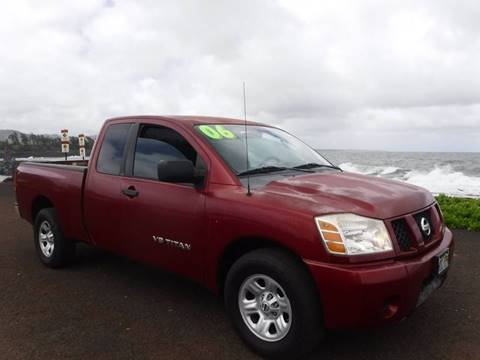 2006 Nissan Titan for sale in Lihue, HI