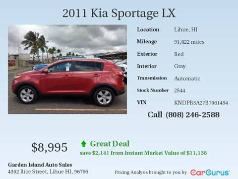 Garden Island Auto Sales Used Cars Lihue Hi Dealer