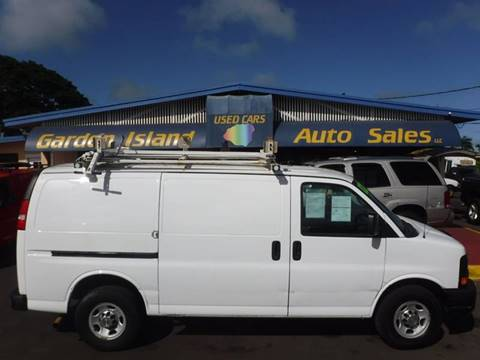 2012 Chevrolet Express Cargo for sale in Lihue, HI
