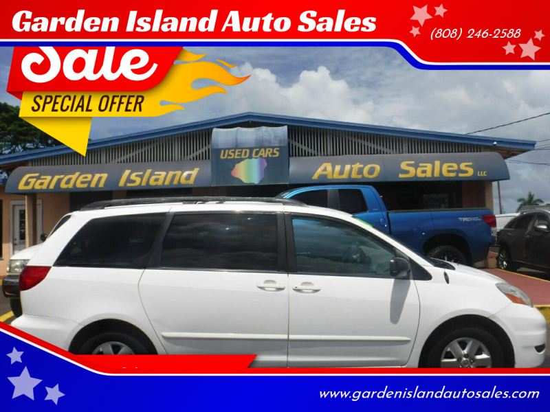2008 Toyota Sienna for sale at Garden Island Auto Sales in Lihue HI