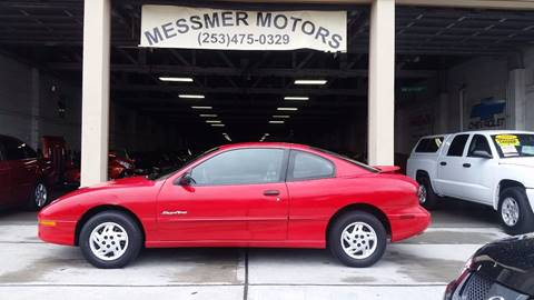 1999 Pontiac Sunfire for sale in Tacoma, WA