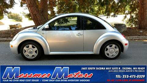 1999 Volkswagen New Beetle for sale in Tacoma, WA