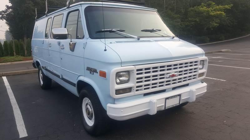 1993 Chevrolet Chevy Van 3dr G10 Cargo Van In Tacoma Wa