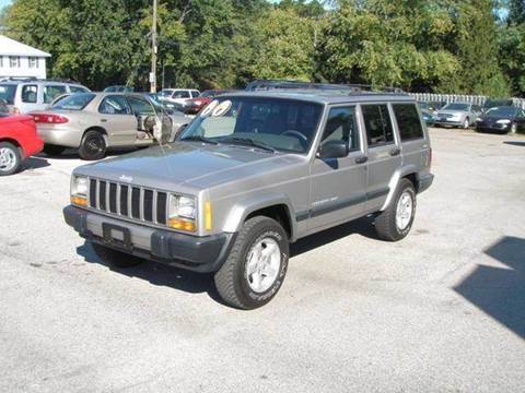 2000 Jeep Cherokee for sale at Autoworks in Mishawaka IN