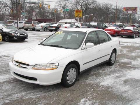 1999 Honda Accord for sale at Autoworks in Mishawaka IN