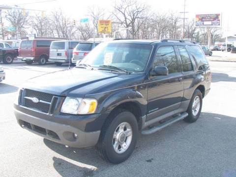 2002 Ford Explorer Sport for sale at Autoworks in Mishawaka IN