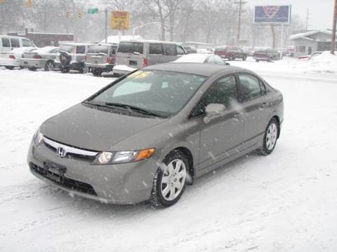 2008 Honda Civic for sale at Autoworks in Mishawaka IN