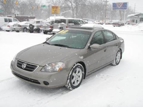 2002 Nissan Altima for sale at Autoworks in Mishawaka IN
