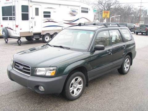 2005 Subaru Forester for sale at Autoworks in Mishawaka IN