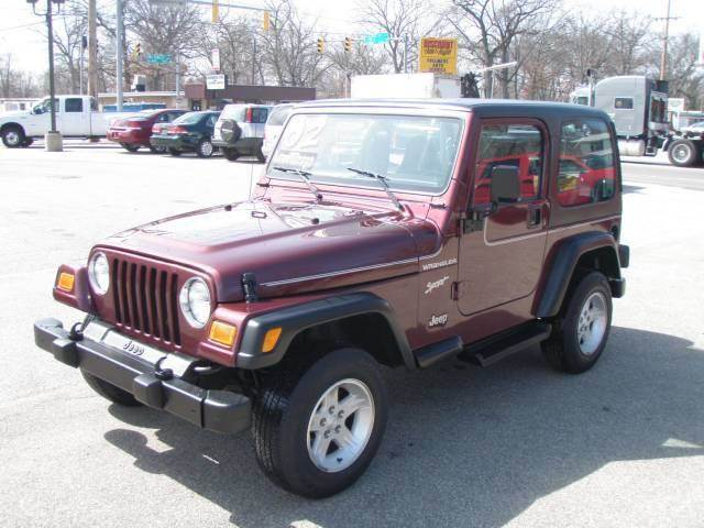 2002 Jeep Wrangler for sale at Autoworks in Mishawaka IN