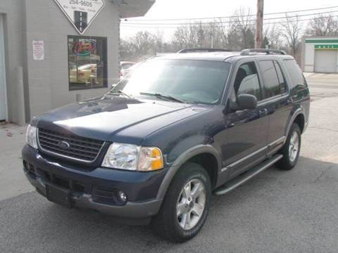 2003 Ford Explorer for sale at Autoworks in Mishawaka IN